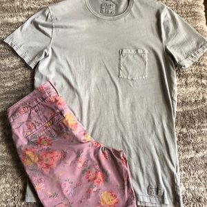 Other - Abercrombie light grey t-shirt